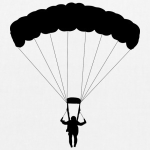 parachuting - EarthPositive Tote Bag
