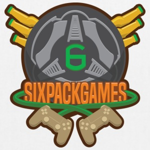 Sixpack Games Logo - EarthPositive Tote Bag