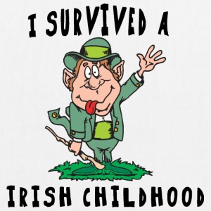 Irish I Survived A Irish Childhood - EarthPositive Tote Bag