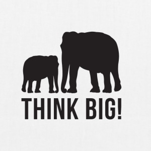 Think BIG 2 - Bio-Stoffbeutel