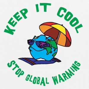 Earth Day Stop Global Warming - Bio-stoffveske