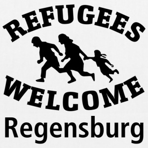Refugees.Welcome.Regensburg - EarthPositive Tote Bag