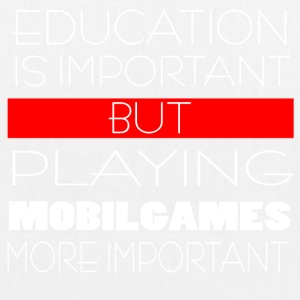 Mobile Games gamble! - EarthPositive Tote Bag