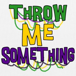 Mardi Gras Throw Me Something - Bio stoffen tas