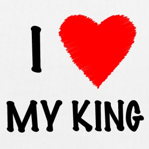 I Love My KING - EarthPositive Tote Bag