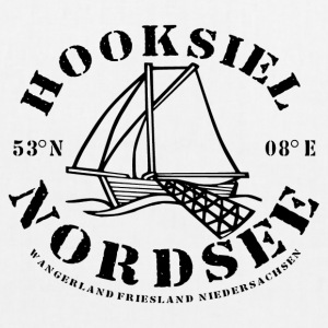 Hooksiel Logo Ship - EarthPositive Tote Bag