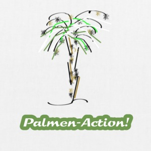 Palm tree - EarthPositive Tote Bag