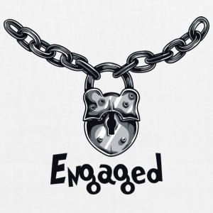 Engaged Chained - EarthPositive Tote Bag