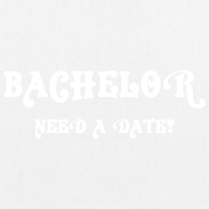 Bachelor Need A Date - EarthPositive Tote Bag