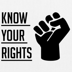 Know Your Rights - EarthPositive Tote Bag