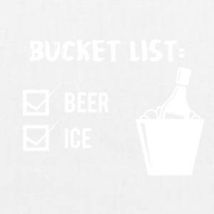 Beer - Bucket List: Beer and Ice - EarthPositive Tote Bag