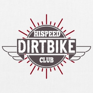 Dirtbike HiSpeedClub - EarthPositive Tote Bag