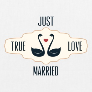Just Married True Love - Sac en tissu biologique