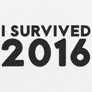 I SURVIVED 2016 - EarthPositive Tote Bag