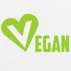 Vegan heart - EarthPositive Tote Bag