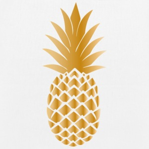 Golden pineapple - EarthPositive Tote Bag