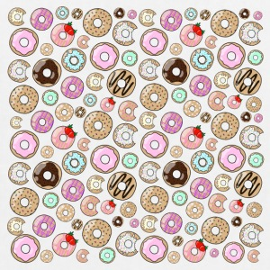 donut Pattern - EarthPositive Tote Bag