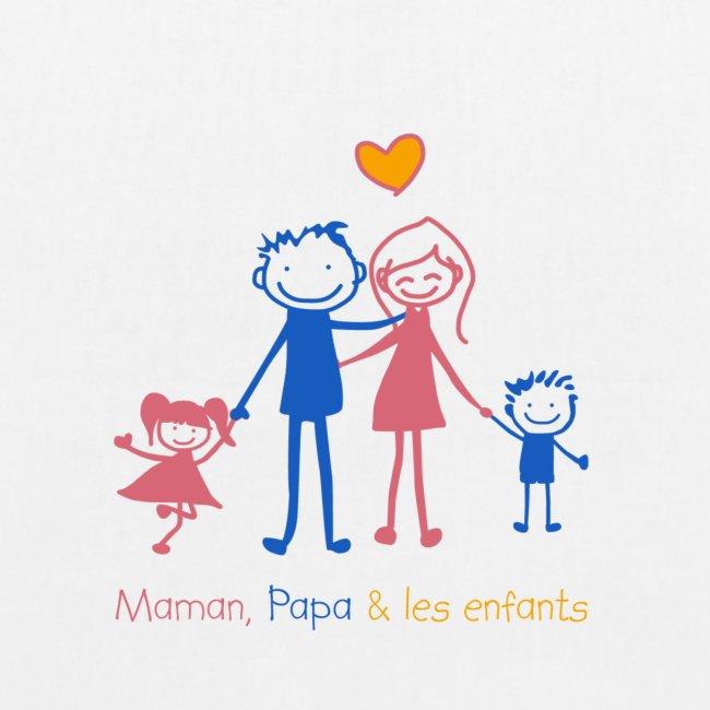 Maman Papa les enfants