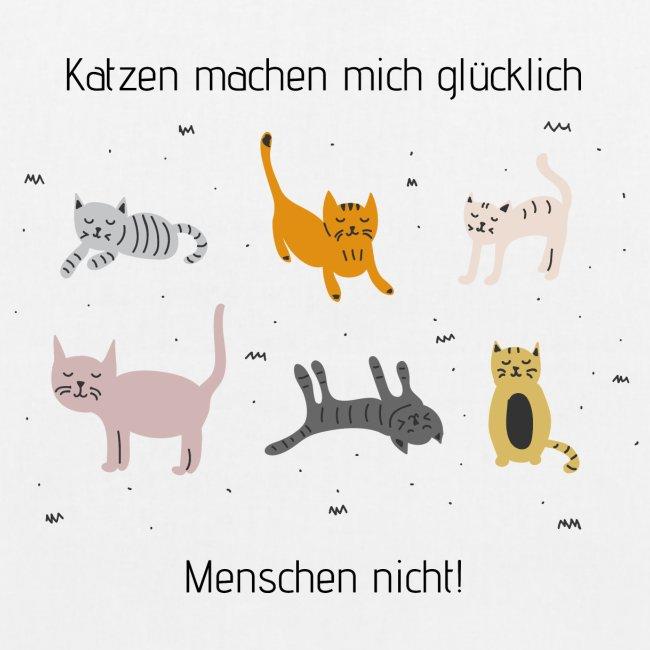 Katzen machen mich glücklich