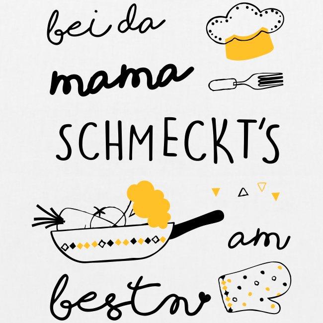 Vorschau: Bei da Mama schmeckts am bestn - Bio-Stoffbeutel