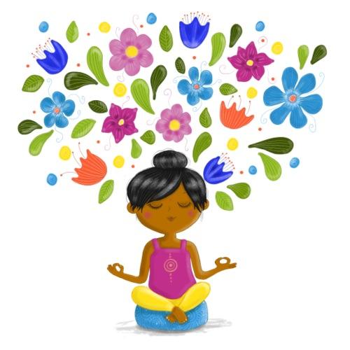 Meditation - Gedanken formen Deine Welt - Bio-Stoffbeutel