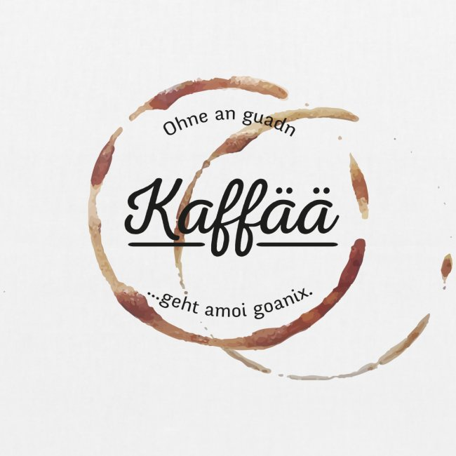 Vorschau: A guada Kaffää - Bio-Stoffbeutel