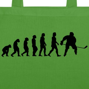 evolution hockey - EarthPositive Tote Bag