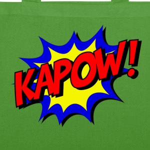 kapow - EarthPositive Tote Bag