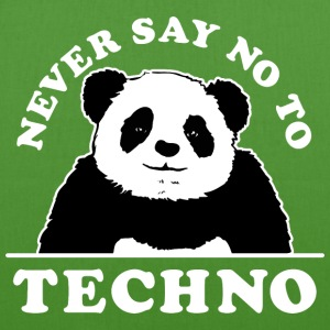 Never say no to techno design - EarthPositive Tote Bag
