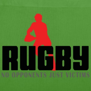 Rugby No Opponents Just Victims - EarthPositive Tote Bag