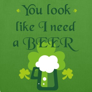 You look like I need a beer - EarthPositive Tote Bag
