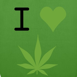 i love weed - EarthPositive Tote Bag