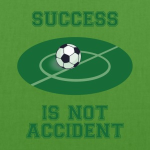 Football: Success is not Accident - EarthPositive Tote Bag
