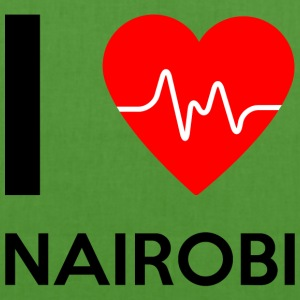 I Love Nairobi - I love Nairobi - EarthPositive Tote Bag
