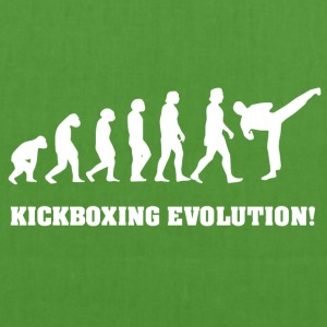Kickboxing Evolution, gift for Kickboxer - EarthPositive Tote Bag