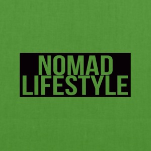nomad lifestyle black - EarthPositive Tote Bag