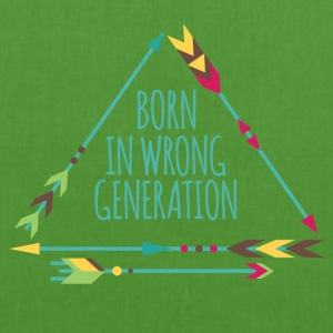 Hippie / Hippies: Born in wrong generation - EarthPositive Tote Bag