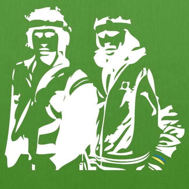 Borg McEnroe Retro Green+White
