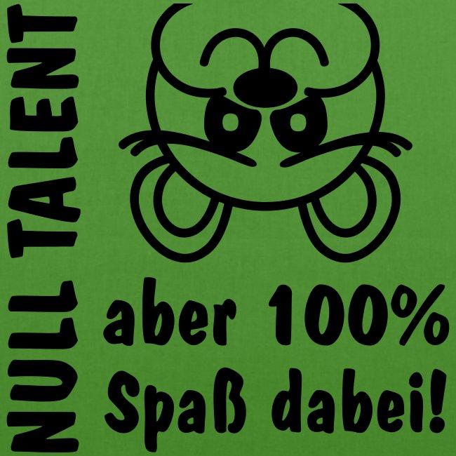 Null Talent 100 Spaß lustiges Bärchen