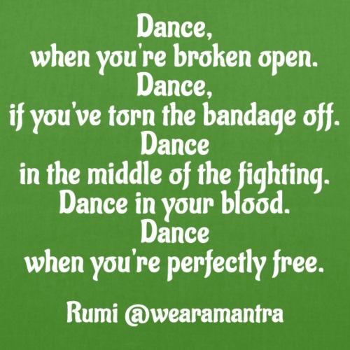 Rumi Dance - Borsa ecologica in tessuto