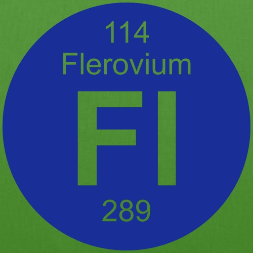 Flerovium (Fl) (element 114) - EarthPositive Tote Bag