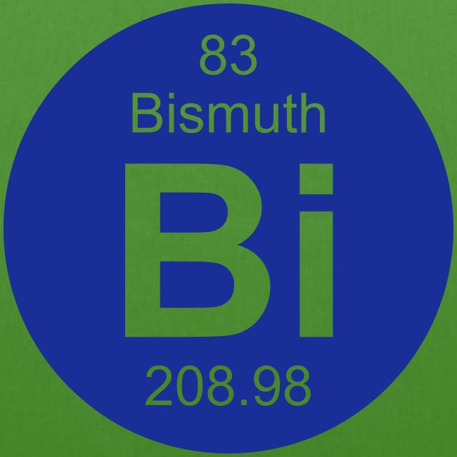 Bismuth Bi Element 83 Earthpositive Tote Bag