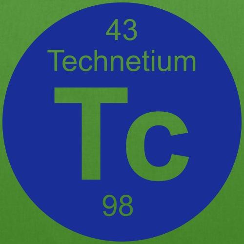 Technetium (Tc) (element 43) - EarthPositive Tote Bag