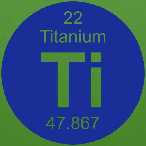 Titanium (Ti) (element 22) - EarthPositive Tote Bag