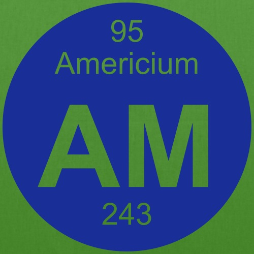 Americium (Am) (element 95) - EarthPositive Tote Bag