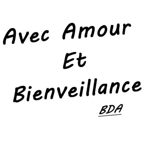 amour et Bienveillance BDA - Sac en tissu biologique