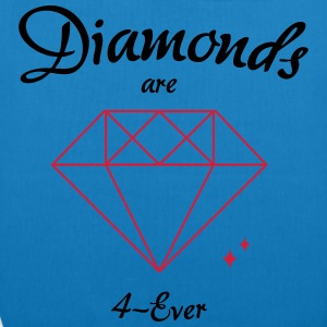 Diamonds are 4-Ever - EarthPositive Tote Bag