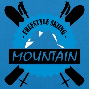 FREESTYLE SKIING - EarthPositive Tote Bag