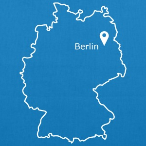 place to be: Berlin - EarthPositive Tote Bag