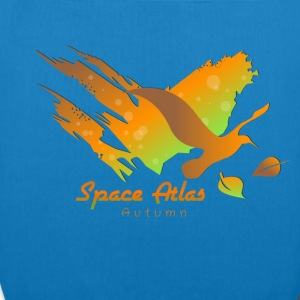 Space Atlas T-shirt Autumn Leaves - EarthPositive Tote Bag